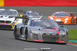 Audi behaalt vierde overwinning in Total 24 Hours of Spa